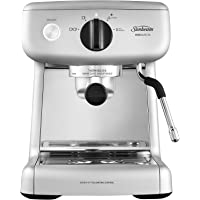 Sunbeam EM4300S Mini Barista Coffee Machine | Espresso, Latte & Cappuccino Coffee Maker | 2L Water Tank | Milk Frother…