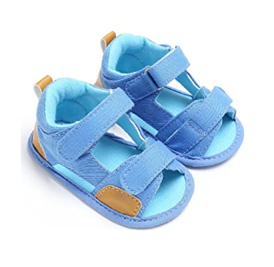 9d5ae1ebbfcc Cherry s Baby Anti-Slip Kids Boys Summer Shoes Soft soled Newborn Infant  Toddler Baby Shoes