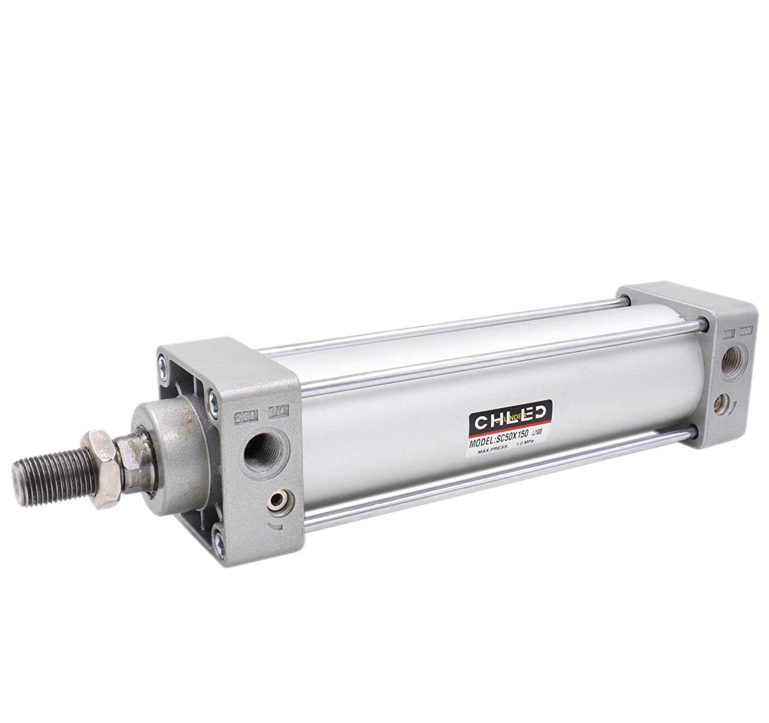 Heschen pneumatique Standard Cylindre SC 50– 150  PT1/4  ports 50  mm Bore 150  mm Stroke double action CHLED Pneumatic