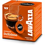 Lavazza Deliziosamente - Café intenso, Tueste Medio, Selección 100% Arabica Pack 16 Cápsulas - Lot de 2