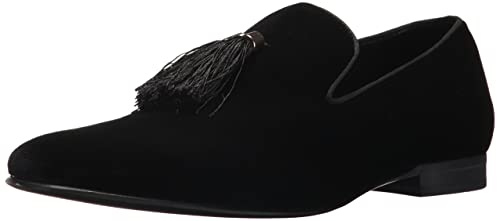 c5aea634e6f Steve Madden Men's Liberty Loafer, Black Velvet, 8.5 M US: Amazon.ca ...