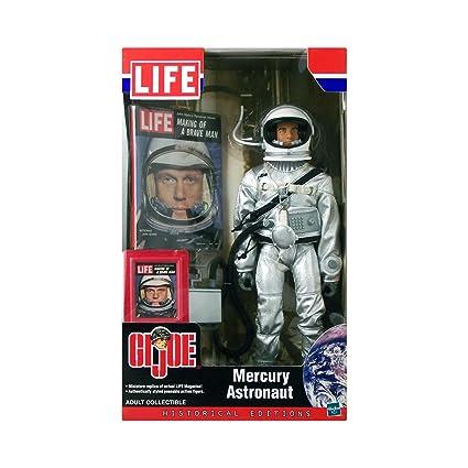 Amazon.com: G.I. Joe Mercurio astronauta Historical Edition ...