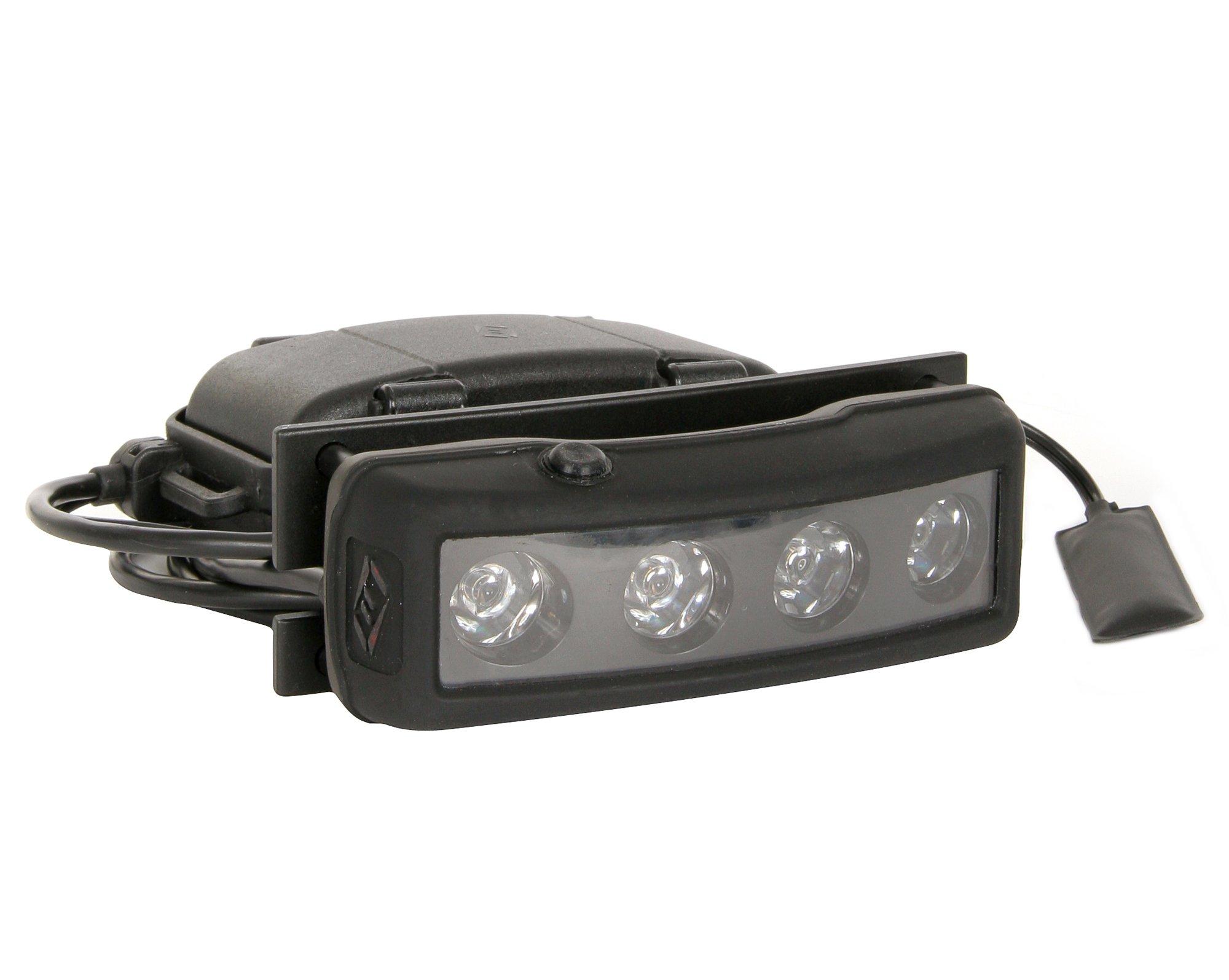 FoxFury 500-329 PRO III Led Shield Light Double Switch, 560 Lumens by FoxFury