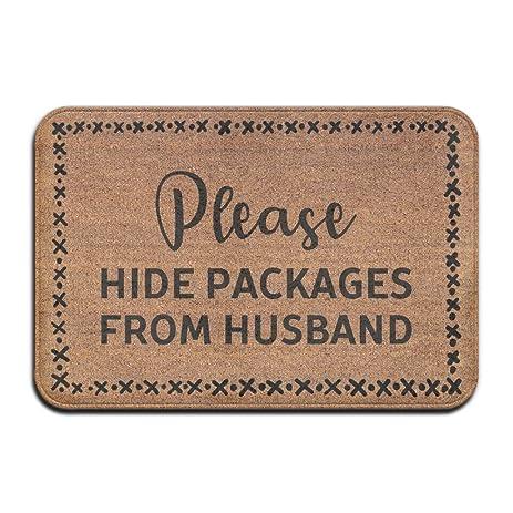 Marvelous Please Hide Packages From Husband Cool 15.7 X 23.6 In Absorbent Anti Slip  Floor Rug Door