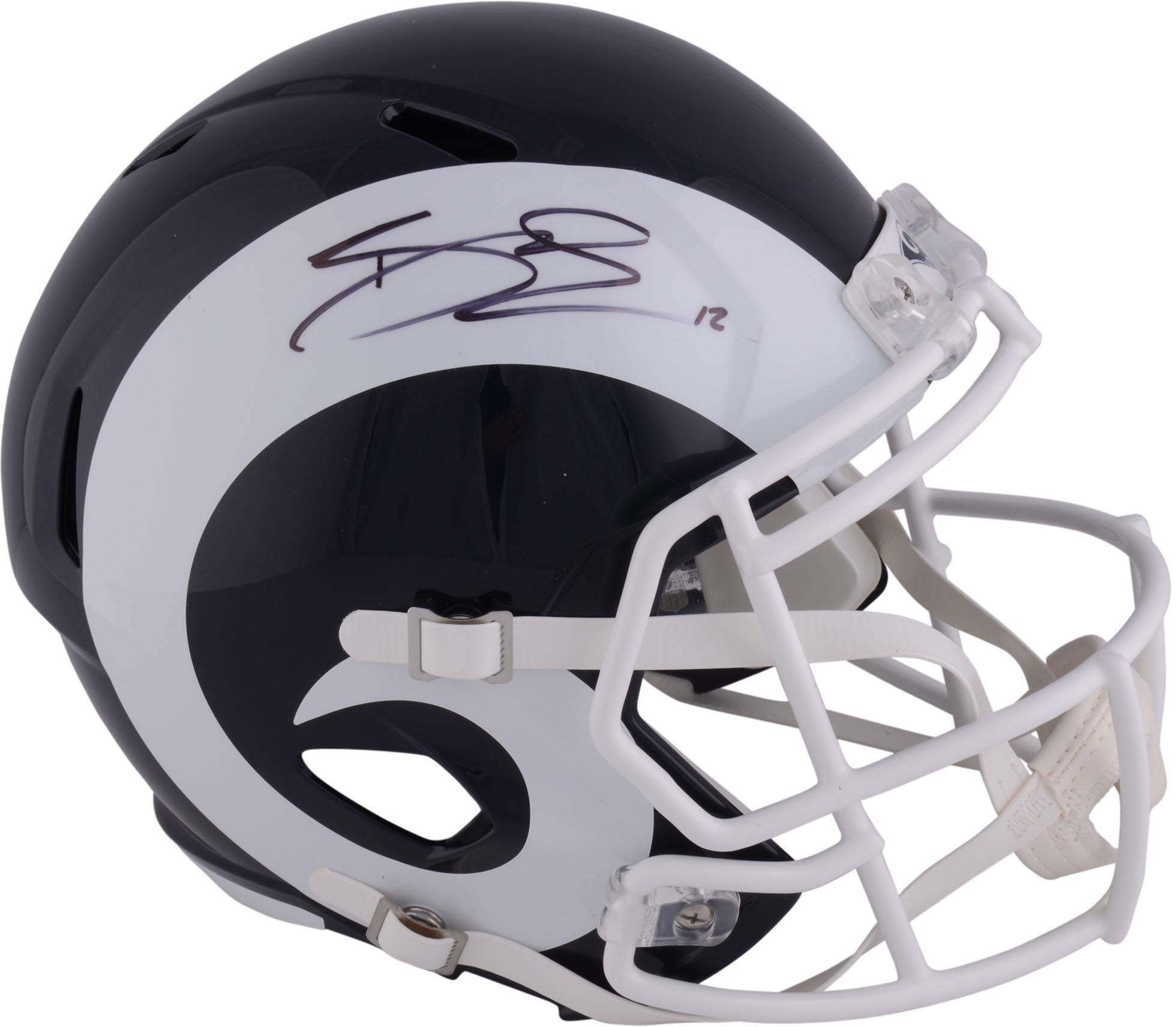Brandin Cooks Los Angeles Rams Autographed Riddell Speed Replica Helmet Fanatics Authentic Certified