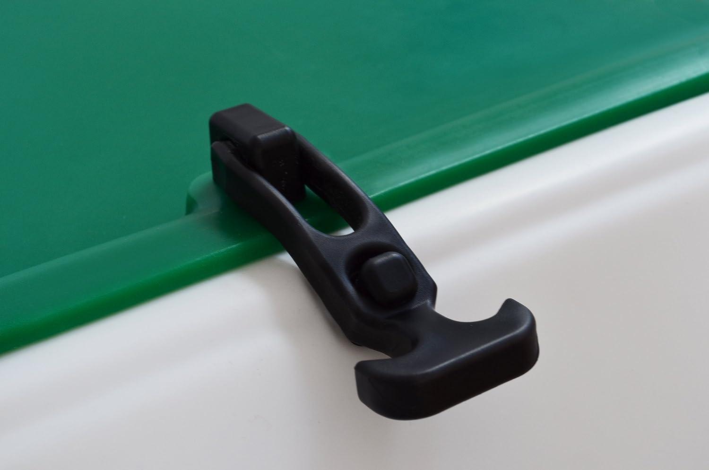 Portaequipajes moto ba/úl reparto verde-blanco con reflectantes homologados