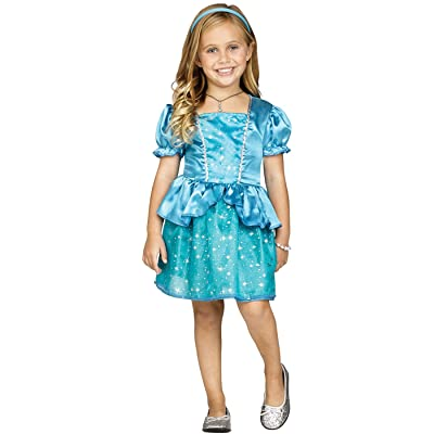 Fun World Enchanted Princess Cinderella Toddler Halloween Costume: Clothing
