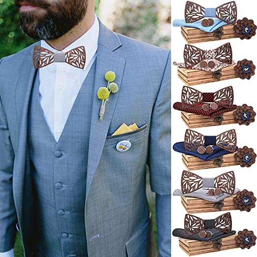 Silky Bow Tie in Gift Box Pok\u00e9mon Grooms Men Bow Tie Gift Bachelor Party