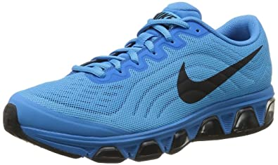 38a188521a7 ... buy mens nike air max tailwind 6 running shoe vivid blue glacier ice  black size 4f721