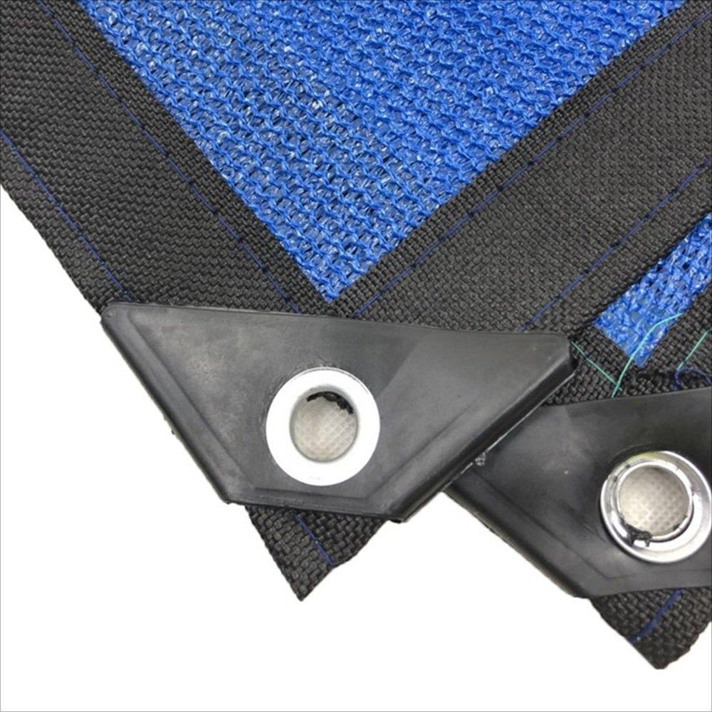 XING ZI tarpaulin X-L-H Blauer Sonnenschutz Sonnenschutz Sonnenschutz Netz Sonnenschutz Netzverschlüsselung Isolierung Netz 8-poligen Wrap Seite Garten Balkon Schwimmbad Schatten Schatten Netz B07JGRR95R Zeltplanen Stabile Qualität 89b765