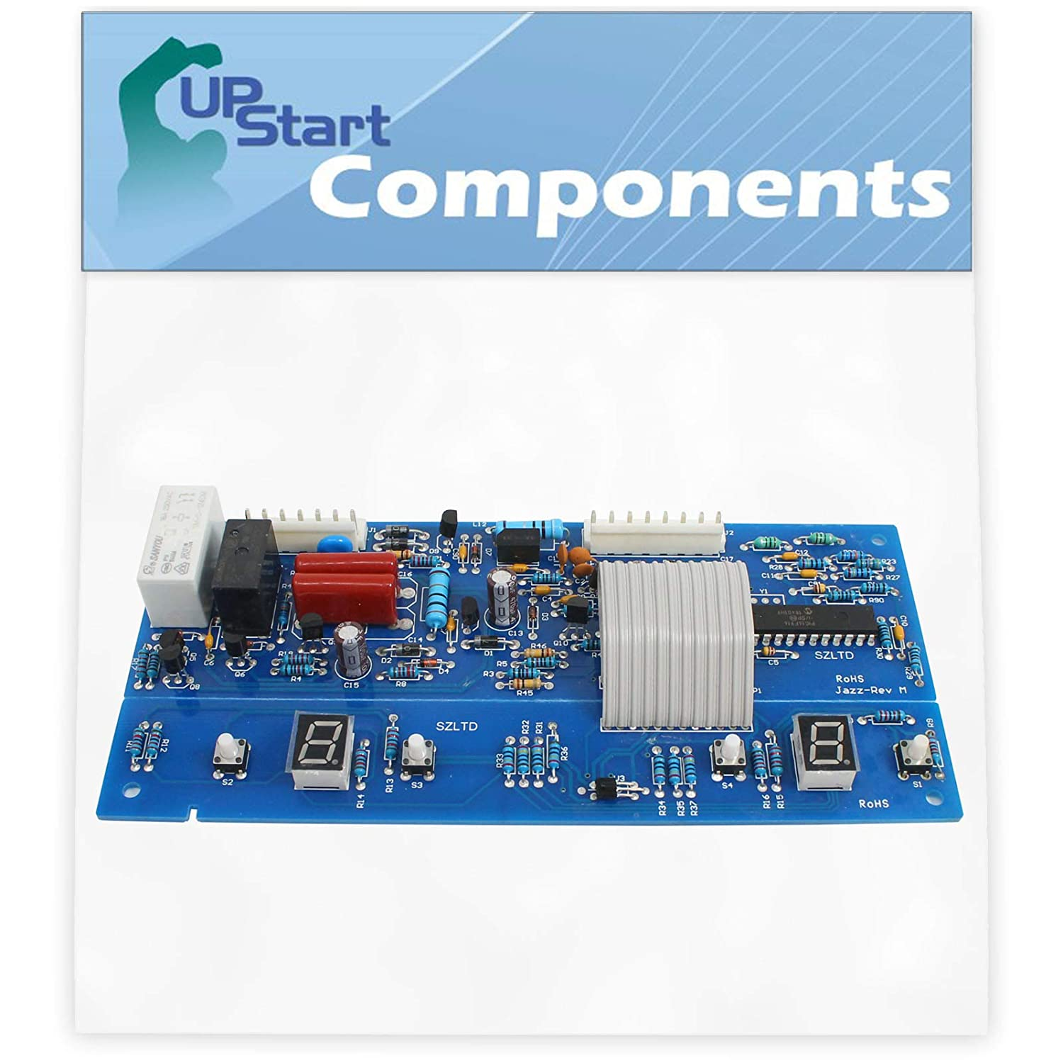 W10503278 Refrigerator Control Jazz Board Replacement for Maytag MFF2258VEW2 Refrigerator - Compatible with WPW10503278 Control Board