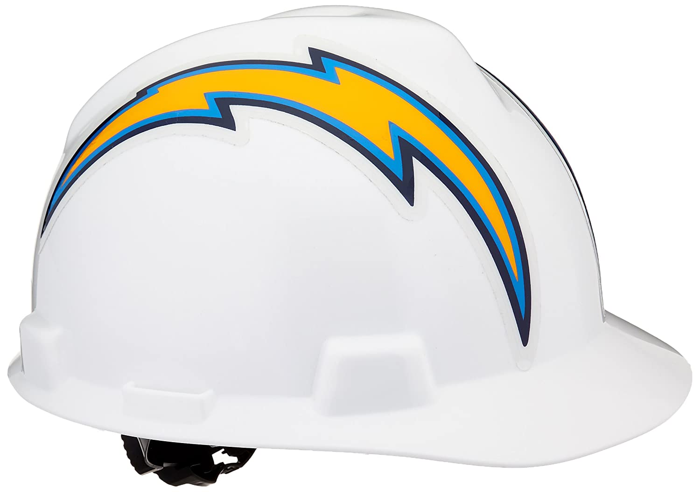 734ec499 MSA 818408 NFL V-Gard Protective Cap, San Diego Chargers