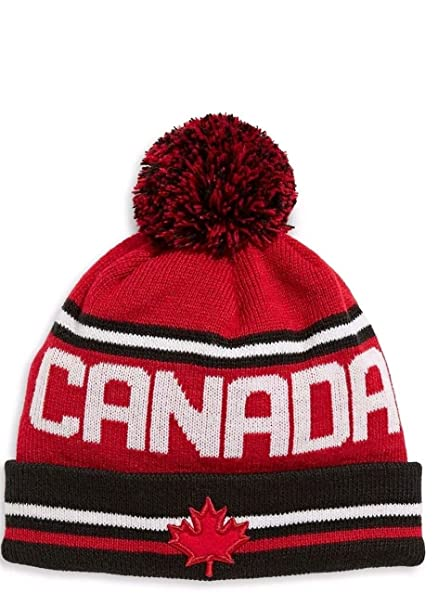 81f667410c2 Hudson s Bay Canada Olympic Team Collection Beanie Toque PyeongChang 2018   Amazon.ca  Clothing   Accessories