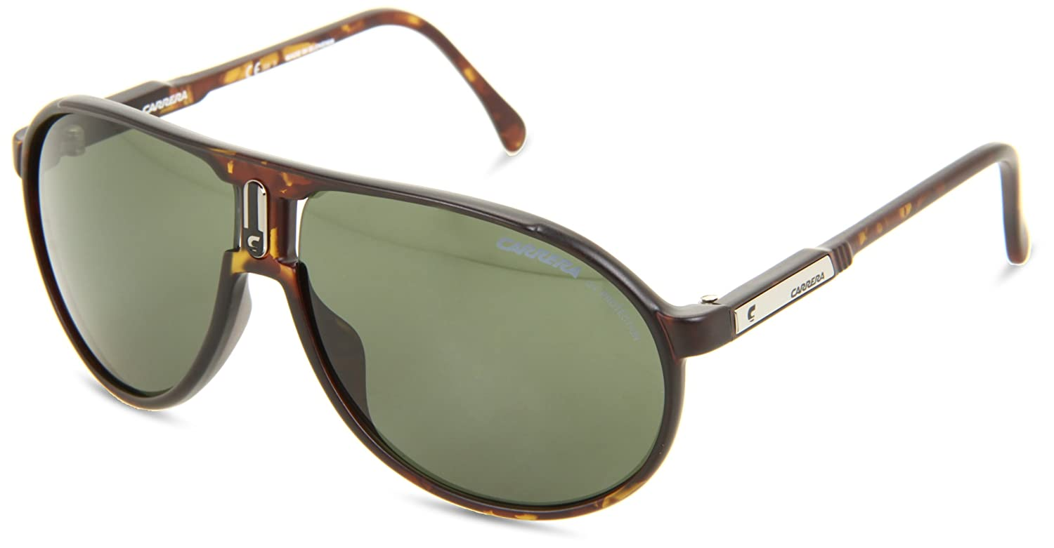 34f231b929d Carrera XEN Dark Havana Matte Champion Aviator Sunglasses Lens Category 3   Amazon.co.uk  Clothing