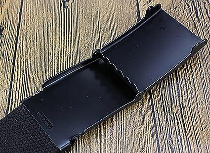 Amazon.com: Qinlee O utdoor Canvas Belt Candy Color Belt ...