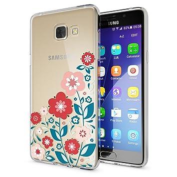 NALIA Funda Carcasa Compatible con Samsung Galaxy A5 2016, Motivo Design Movil Protectora Ultra-Fina Silicona Cubierta, Goma Gel Estuche Bumper Ligera ...