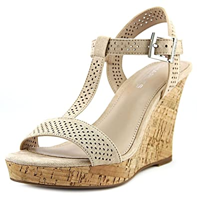 Charles by Charles David Womens Law Open Toe Casual TStrap Nude Size 65
