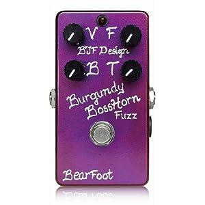 BearFoot Burgundy BossHorn Fuzz