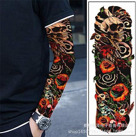 tzxdbh Pegatinas de Tatuaje de Brazo Completo para Hombres y ...