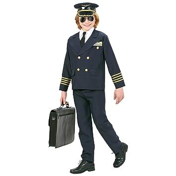 WIDMANN Widman - Disfraz de piloto de guerra para niño, talla 5-7 ...