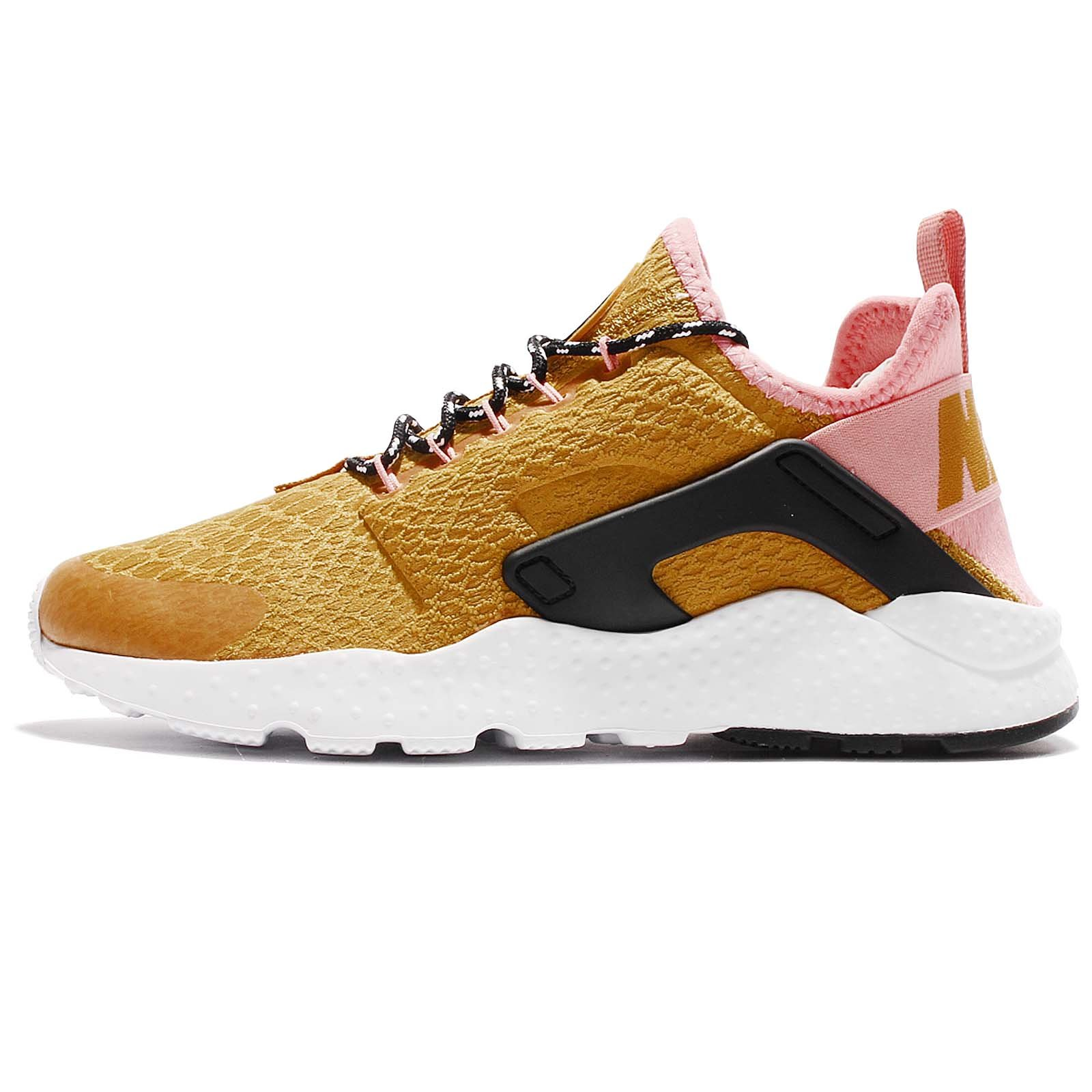 5f8f46a4a682 Galleon - NIKE Women s Air Huarache Run Ultra SE Gold Dart Black 859516-700  (Size  8.5)