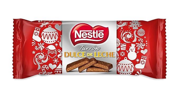 Nestlé - Turrón de chocolate con dulce de leche, 215 g