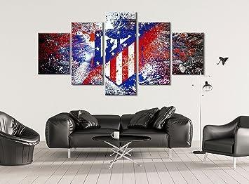 Amazon.com: Atlético de Madrid – Soccer lona, estirada y ...