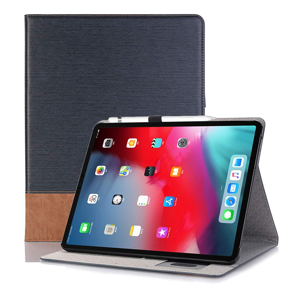 買取り実績  Ayans iPad Pro 11インチ B07Q3LKMCZ 2018用ケース 高級レザーフォリオスタンドケース ペンシルホルダー付き Pro ブルー スマートカバー 自動スリープ/ウェイク機能 iPad Pro 11インチ 2018用 ブルー ブルー B07Q3LKMCZ, 北塩原村:c6eb3714 --- a0267596.xsph.ru