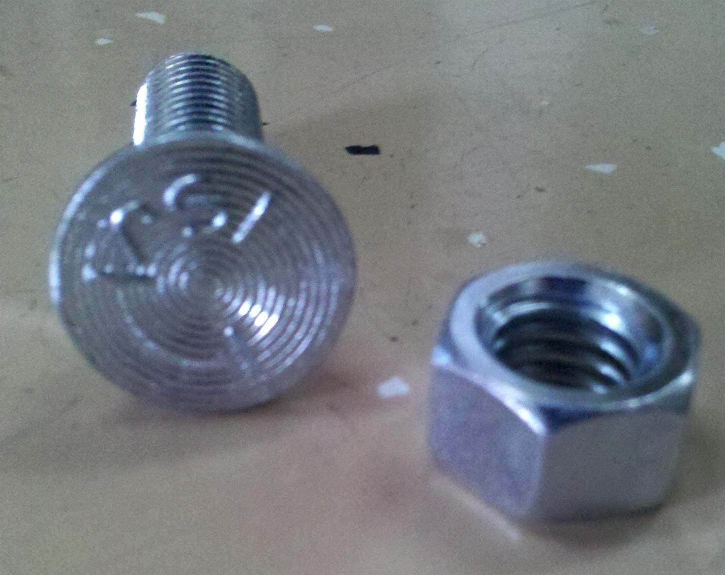 Details about  /CONICAL NUT /& SPRING WASHER FITS LELY POWER HARROW TINES