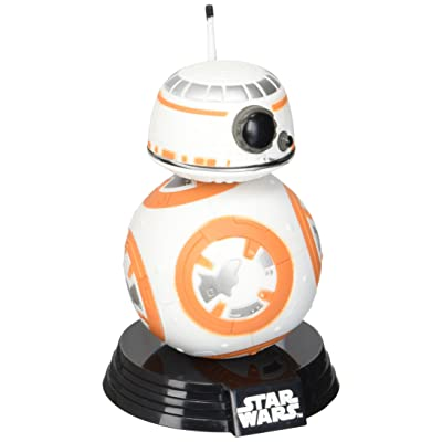 FunKo 6218 Pop! Star Wars, BB-8, Bobble-Head Figures, 3.75-Inch: Funko Pop! Star Wars:: Toys & Games