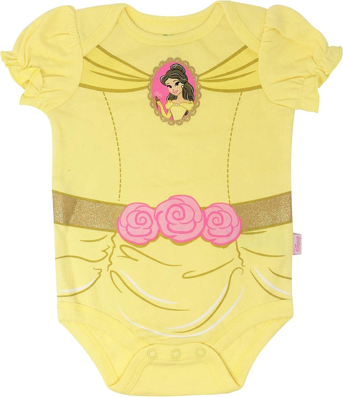 Disney Baby Girls 5 Pack Bodysuits 101 Dalmations Dumbo Bambi Aristocats