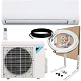 DAIKIN 12,000 BTU 19 SEER Wall-Mounted Ductless Mini-Split A/C Heat Pump System Maxwell 15-ft Installation Kit (230V) 12…