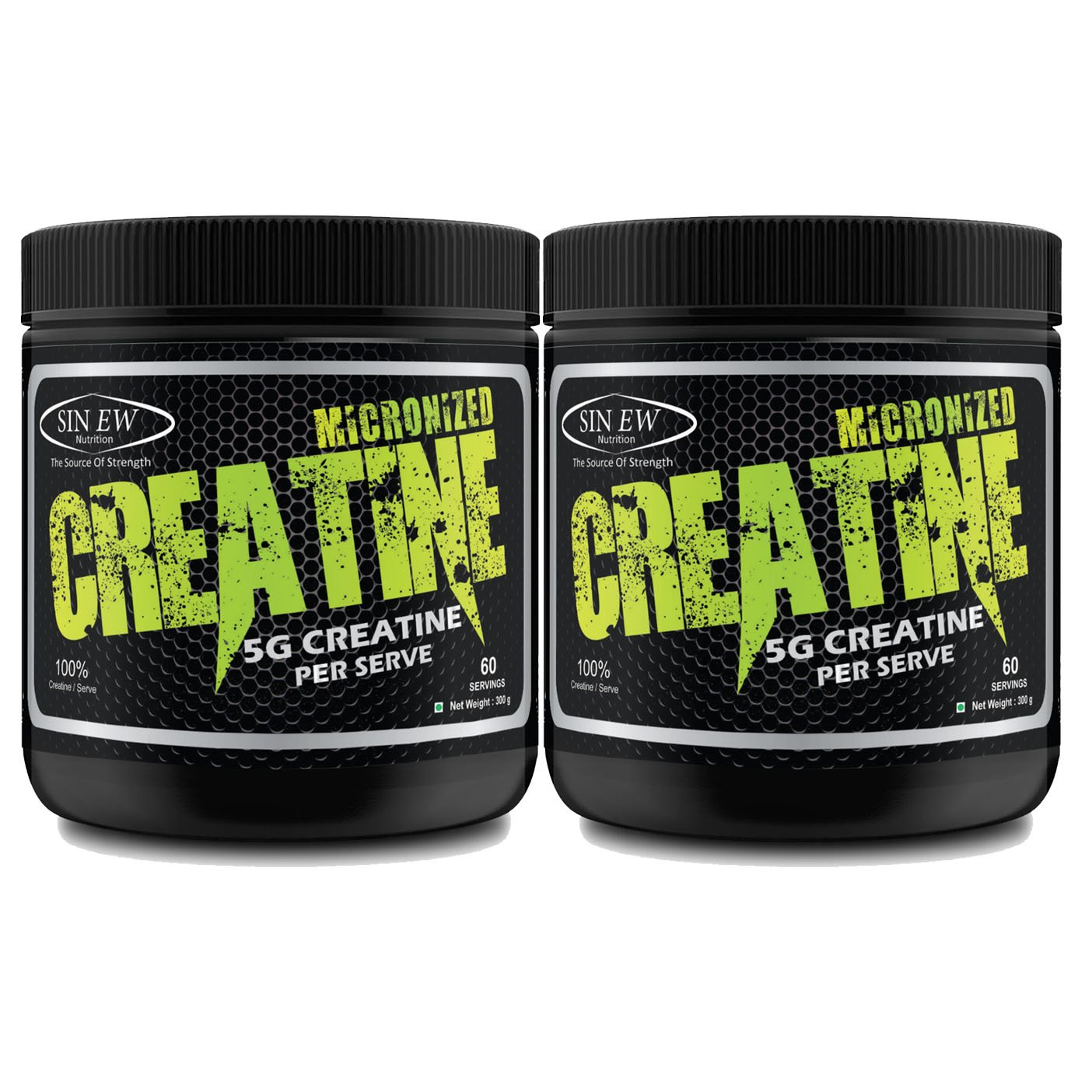 Sinew Nutrition Micronized Creatine Monohydrate 300gm -