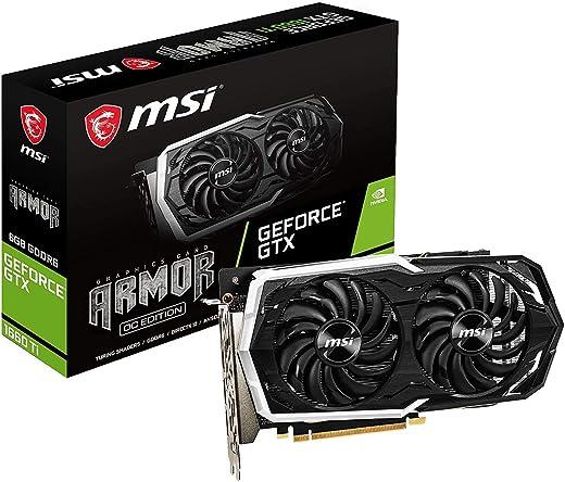 MSI Gaming GeForce GTX 1660 Ti 6GB ARMOR OC