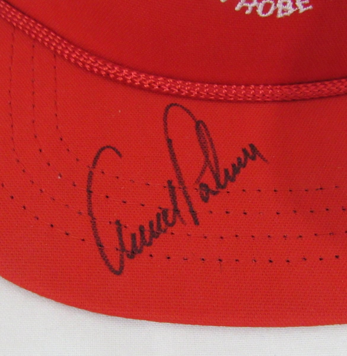 Arnold Palmer Autographed/Signed Latrobe County Club Hat JSA 136872