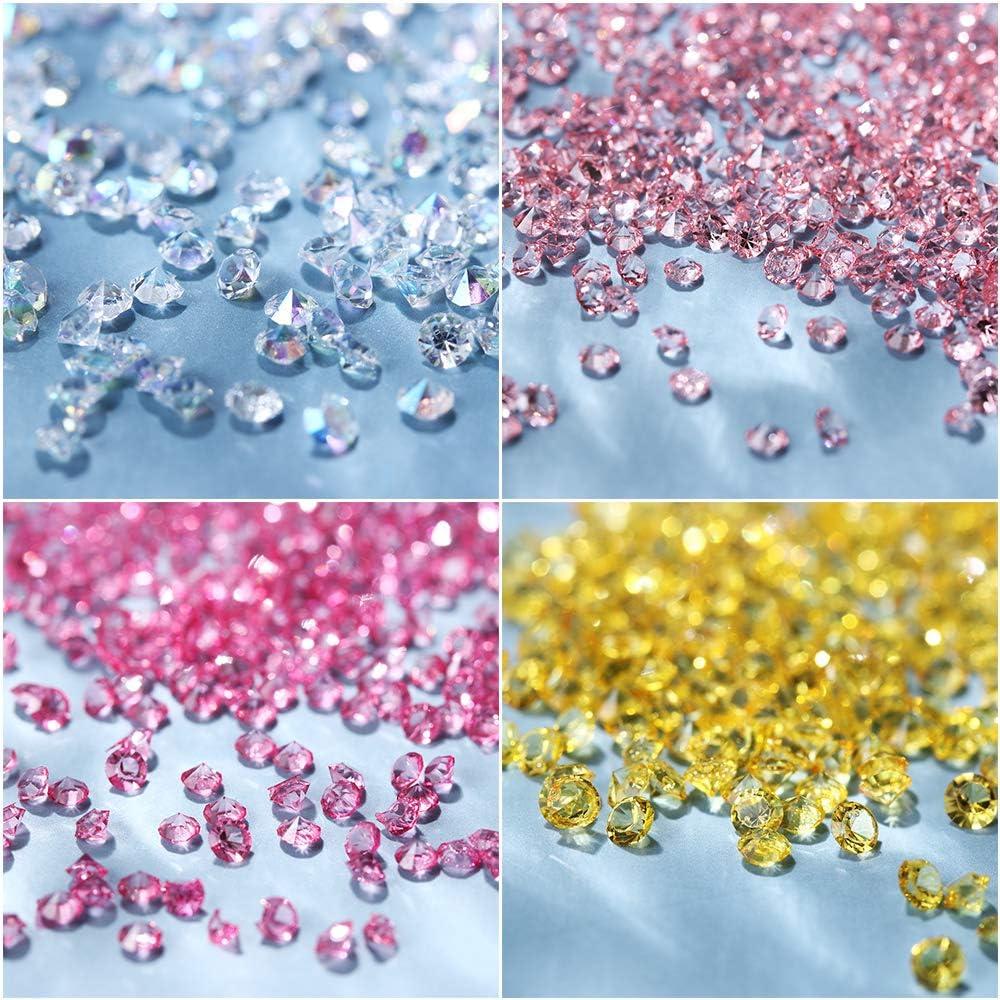 Diamantes de imitación del clavo 3D Decoración, 2 mm AB clavo del ...
