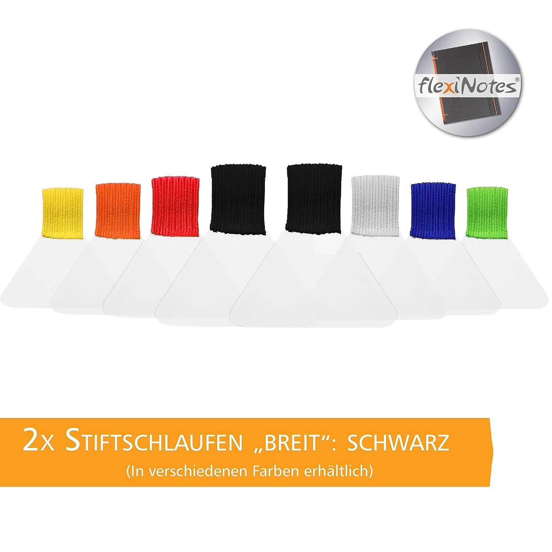Braun 2x Stifthalter selbstklebend flexiNotes STIFTSCHLAUFE Typ: Breit