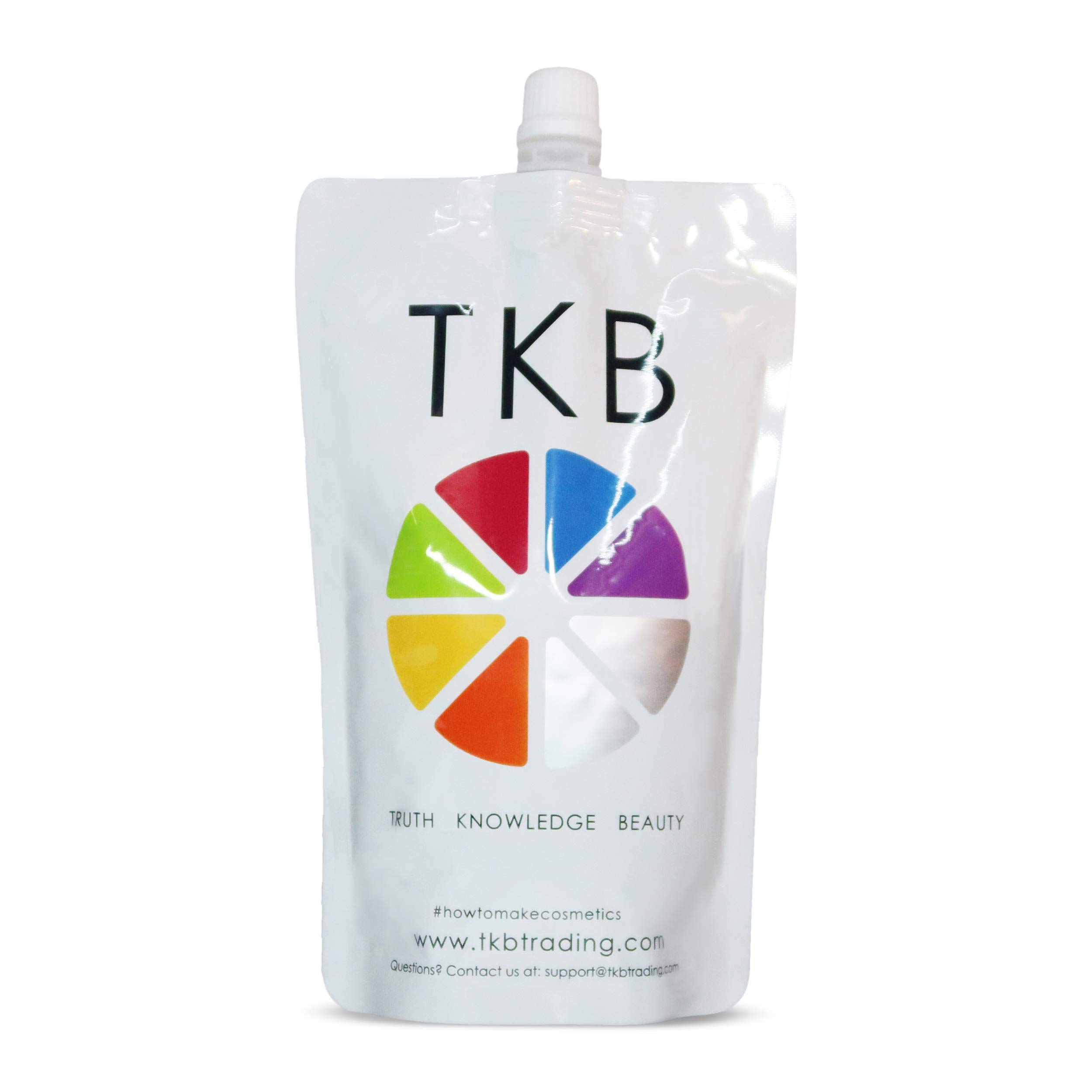 TKB Lip Gloss Base | Clear Versagel Base for DIY Lip Gloss, Made in USA Mineral-Oil-Free (15 oz) ($1.36/oz)