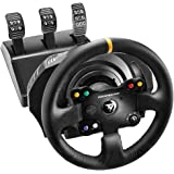 Thrustmaster TX RACING WHEEL LEATHER EDITION - Volante - XboxOne / PC -Force Feedback - 3 pedales - Licencia Oficial…