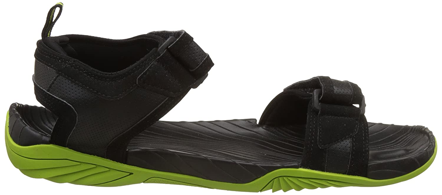 Puma Men s Supremacy DP Puma Black-Limepunch Athletic   Outdoor Sandals -  10 UK India (44.5 EU)  Buy Online at Low Prices in India - Amazon.in 855a7f613