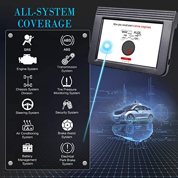 professional obd2 scanner with full diagnostics