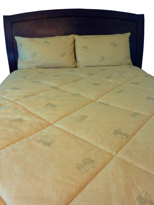 "100% Natural Camel & Lamb Wool Comforter. Twin, 70""x86"""