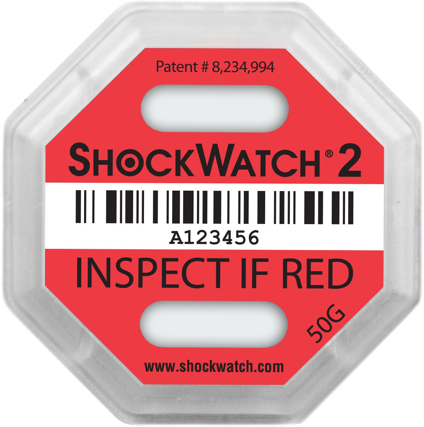 Shockwatch 2 50G Impact Indicator 20 units