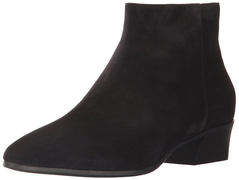 Aquatalia Women's Fire Suede Ankle Boot B06WVBFW65 8 B(M) US|Black