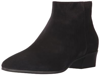 Aquatalia Women s FIRE Suede Ankle Boot Black 5 ... a00e30db34