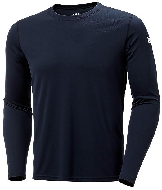 Helly Hansen HH Tech Crew Camiseta Deportiva Manga Larga, Hombre ...