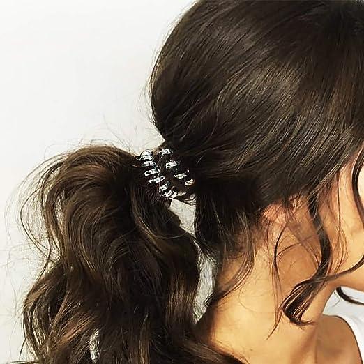 Amazon.com  BTechhome 8 Piece Coiled Hair Ties Set c381f5dd465