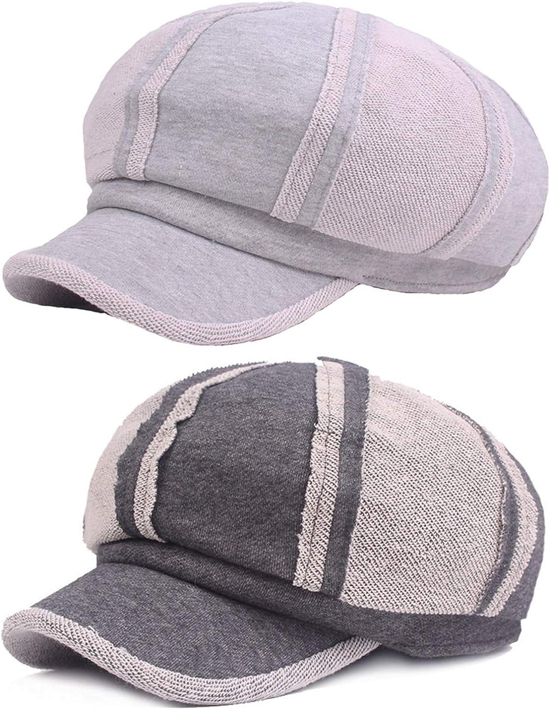Men Women Cotton Gatsby Newsboy Hat High Grade Cabbie Driving Cap New HATCS0266