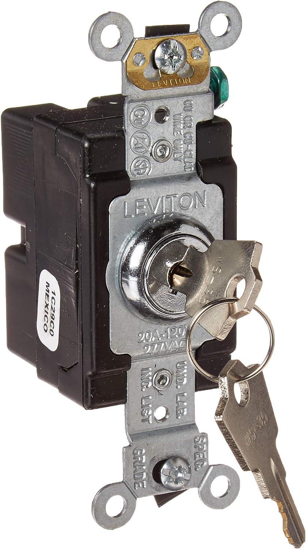 Leviton 1221-2KL, Chrome