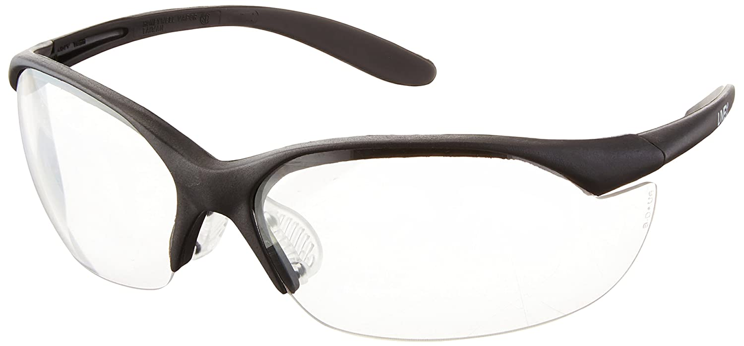 Howard Leight by Honeywell Vapor II Sharp-Shooter Shooting Glasses, Clear Lens (R-01535)